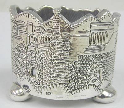 מחזיק ליין שערי ירושלים מכסף טהור